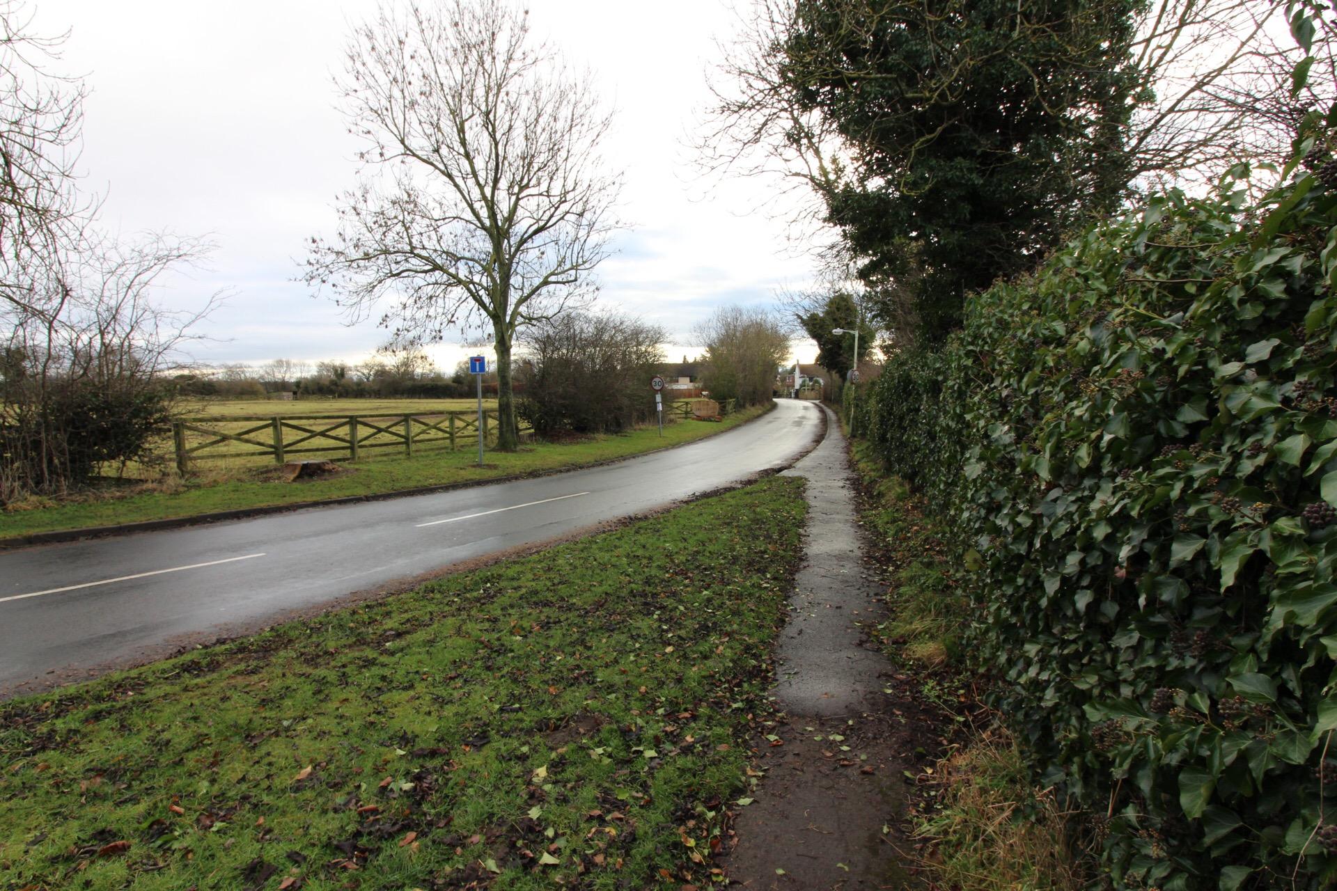 Road into Low Coniscliffe
