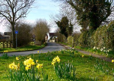 Spring LC village entrance